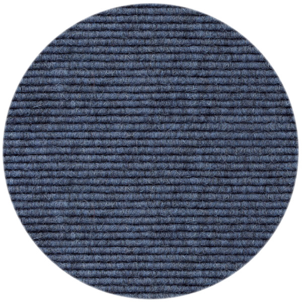 Tretford Interland 514, Teppich rund, Jeans
