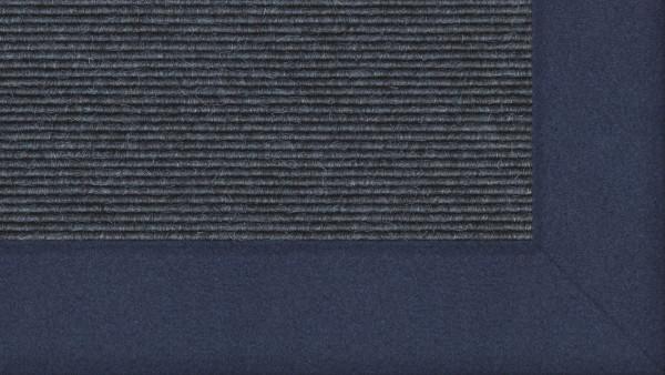 Tretford Interland 520 Eisen, Teppich mit Bordüre